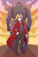 Elric Bros by SOLAR-CiTRUS