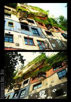 Hundertwasser House by Nachan