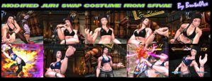 Modified Juri Swap Costume From SFIVAE by BrutalAce