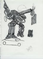 Robot..thing.. by Master-Bryon