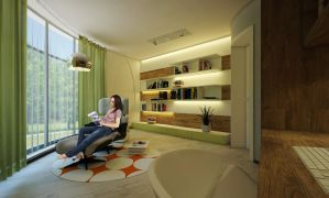 My diplome project_study room by Ultrarender