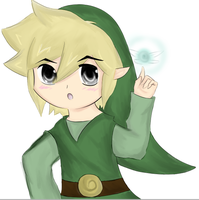 Toon Link - Ready for Adventure by VioShadow