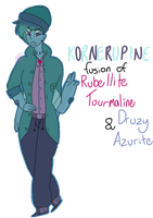.:Kornerupine, Fusion REF:. by gracefulScribble