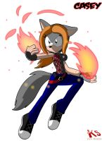 Playing with fire by DiscoSaeba