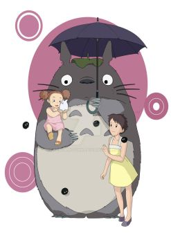 My Neighbor Totoro by PergamoVnn