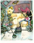 we're a garage band by PattKelley