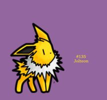 #135 - Jolteon by FrostTechnology