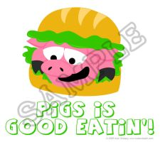 Good Eatin' T-Shirt Design by cuteordeath
