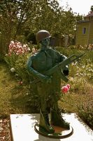 Soldier in the Garden by boron