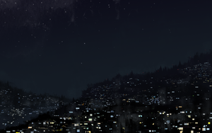 Night Lights Study by Gryphon-Shifter