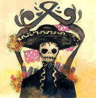 The Death Mariachi by OpheraRosa