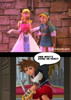 Door Meme - Zelda by adamRY