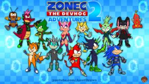 Zonec The Devhog 2: Adventures by AnutDraws