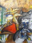 .:The English Ladye and the Knight:. by MoonlightVegas