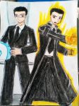 Pyromaniac: MIB Agent and Burning Avenger by e31