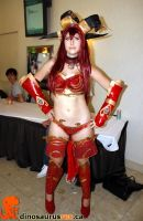 Alexstrasza pose by TheDerpQueen