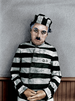 Color - Charlie Chaplin by jsousa10