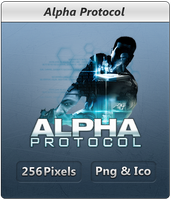 Alpha Protocol - Icon by Crussong