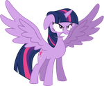 Vector Princess Twilight Sparkle furious by KyssS90