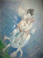 Best Underwater Kiss Ever by divergent-is