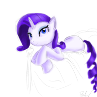 Rarity with Color by TheFabledRarity