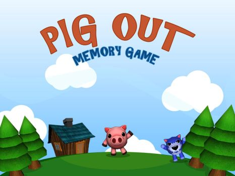 Pig Out Memory Game by victoria-crimson