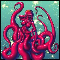 Octopus Goo-girl by gamera1985