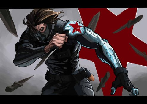 Winter Soldier by kathan