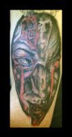 EVIL PORTRAIT SECOND SITTING by DEMONGRAFIX666