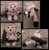 Kitty Megatron plushie by Astrocat