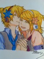 Rin x Len by The89thAlice