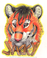 Jacky Badge by Lunakia