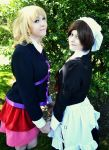 Umineko: Jessica and Shannon by tipsy-g