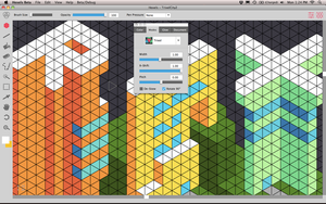 Rotated trixels in Hexels Pro 1.1 Update by TedMartens