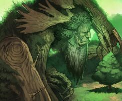 MtG Online- Heartwood by UdonCrew