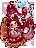 Chibi Mermaid Simplycynarts and KawaiiBB by hotbento