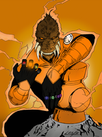 Larfleeze - Orange Lantern Corps by portfan