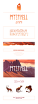 Mystfell Logo and Font by Blackpassion777