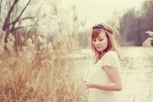 Romantic vintage portrait by Music-l0ve