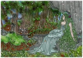 Lady Of The Forest by StefaniaRusso