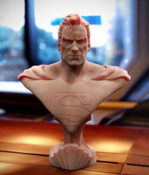 Superman Bust by Thyke