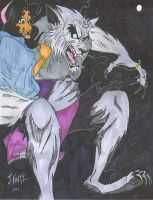 Werewolf gets Gypsy Girl by Rinkusu001