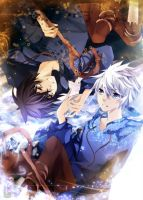 Shadow Jack and Jack Frost by Squ-chan
