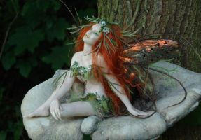 A Forest Faerie by elvenelysium