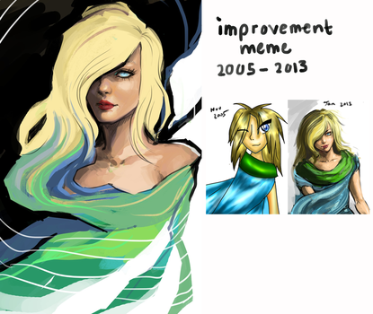 Improvement meme by acorns