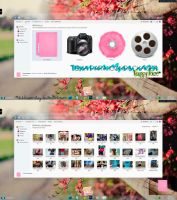 {HappyFace'Tema para Iconpackager'}~ by ShhKissMeBoy