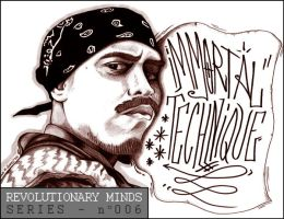 Revolutionary Minds : Immortal Technique by Insanemoe