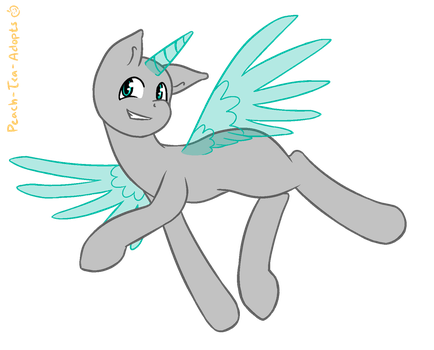 Looking Pretty Fly Mlp Base by peach-tea-adopts
