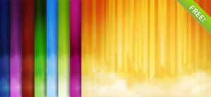 Abstract Linear Backgrounds by freebiespsd