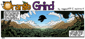 Orange Grind Strip 45 by megawolf77